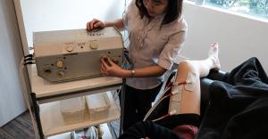 knee physiotherapy singapore